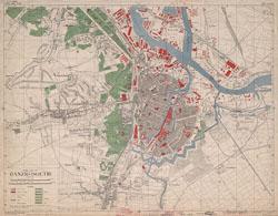 Town plan of Danzig (Sheet 1)